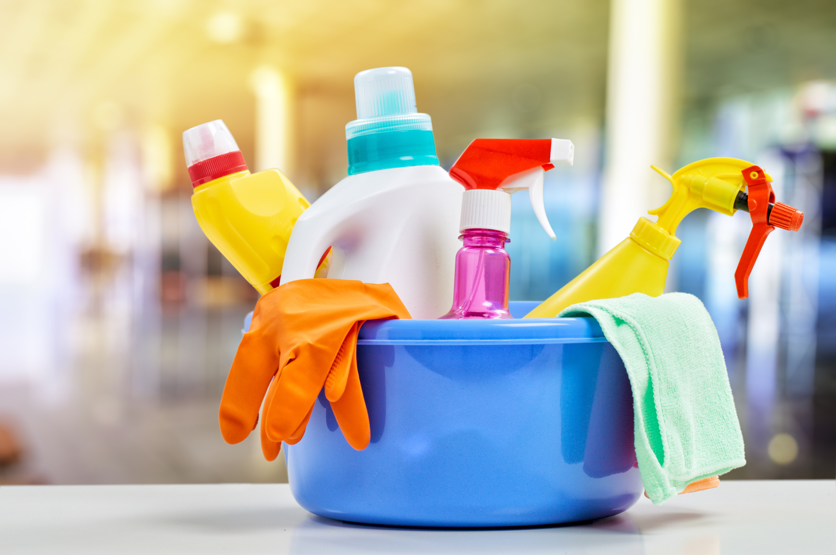 cleaning products while pregnant